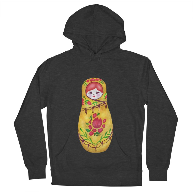 Russian Matryoshka Nesting Doll Women's Pullover Hoody by tanjica's Artist Shop