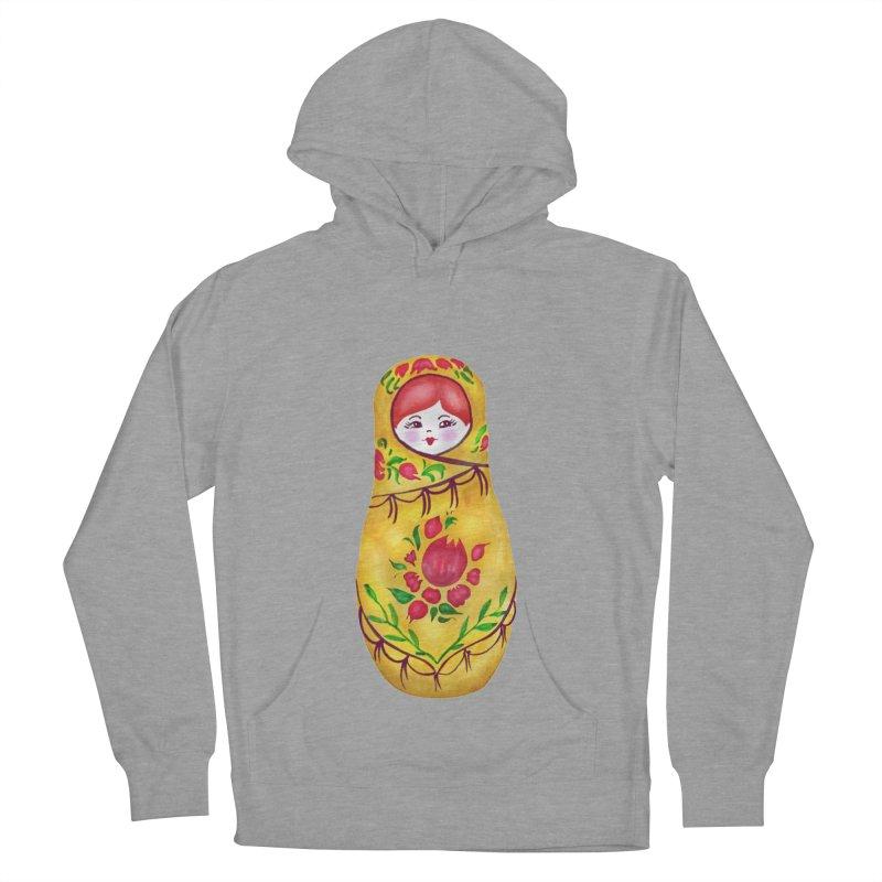 Russian Matryoshka Nesting Doll Women's Pullover Hoody by tanjica's Artist Shop