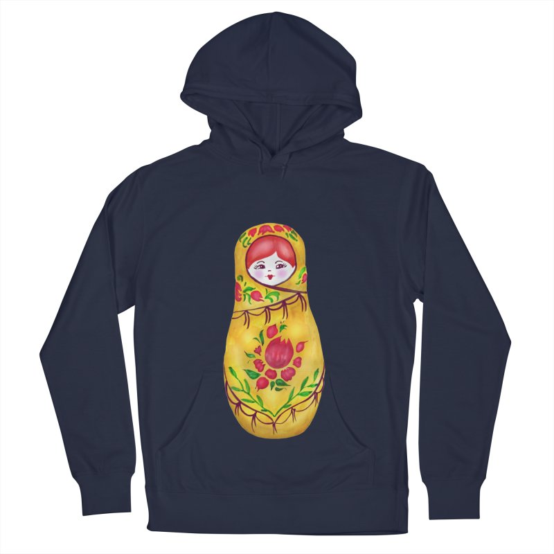 Russian Matryoshka Nesting Doll Men's Pullover Hoody by tanjica's Artist Shop