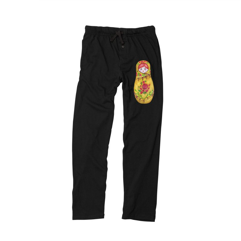 Russian Matryoshka Nesting Doll Men's Lounge Pants by tanjica's Artist Shop