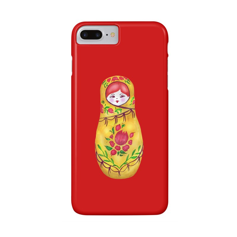 Russian Matryoshka Nesting Doll Accessories Phone Case by tanjica's Artist Shop