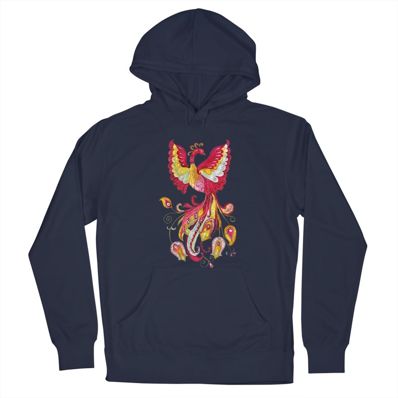 Firebird - Mythical Creature Men's Pullover Hoody by tanjica's Artist Shop
