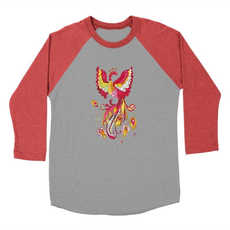 Firebird - Mythical Creature Men's Longsleeve T-Shirt by tanjica's Artist Shop