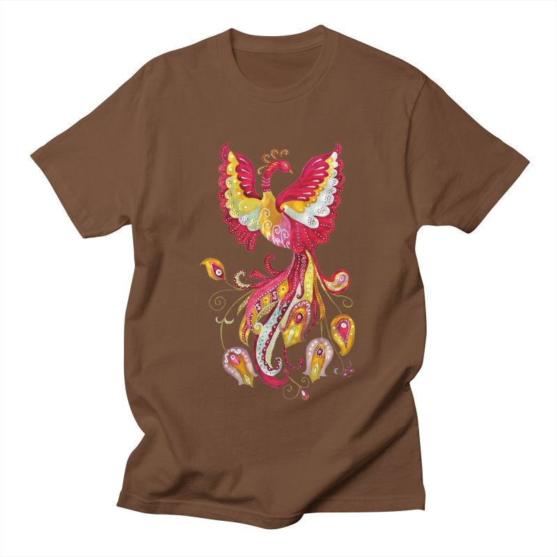 Firebird - Mythical Creature Women's Unisex T-Shirt by tanjica's Artist Shop