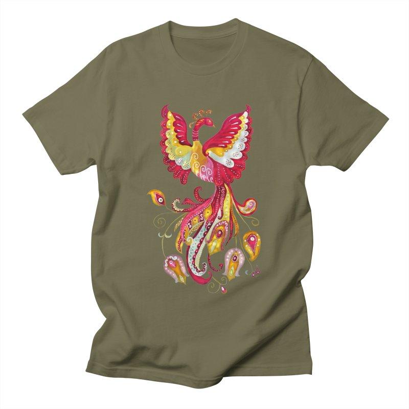 Firebird - Mythical Creature Women's Unisex T-Shirt by tanjica's Artist Shop