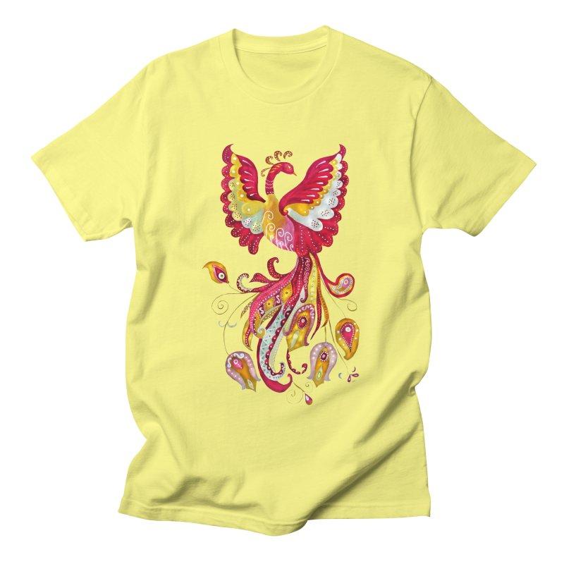 Firebird - Mythical Creature Women's Regular Unisex T-Shirt by tanjica's Artist Shop