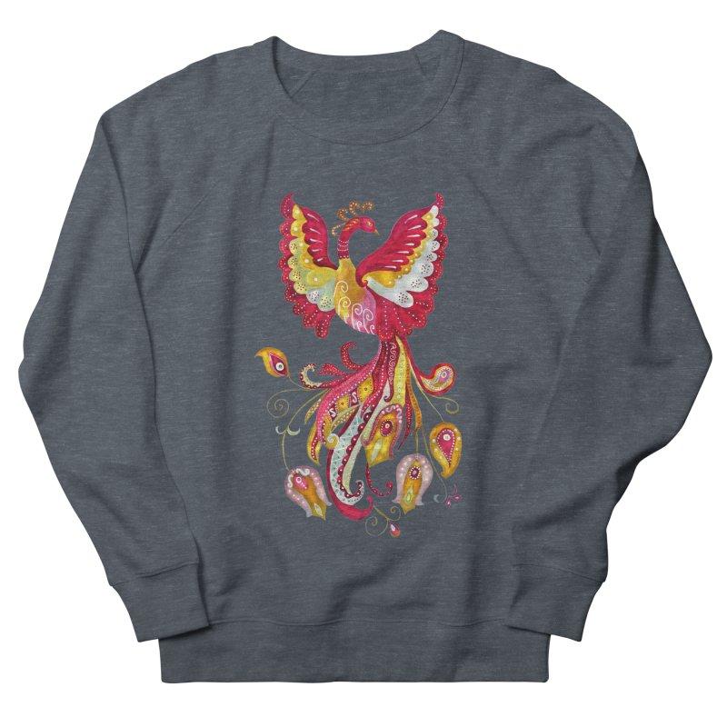 Firebird - Mythical Creature Men's Sweatshirt by tanjica's Artist Shop