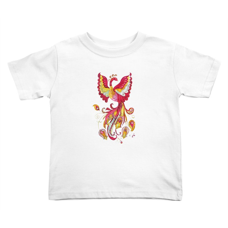 Firebird - Mythical Creature Kids Toddler T-Shirt by tanjica's Artist Shop