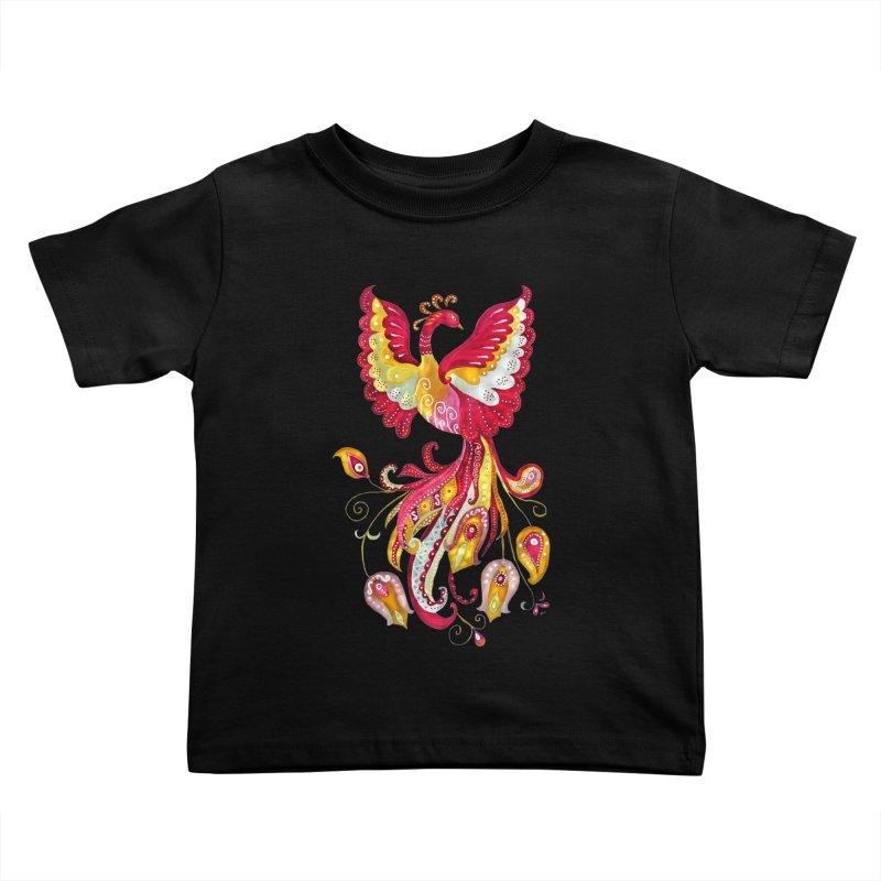 Firebird - Mythical Creature Kids Toddler T-Shirt by tanjica's Artist Shop