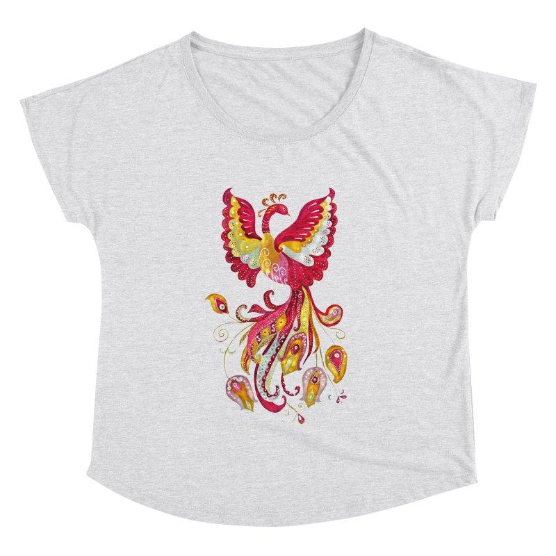 Firebird - Mythical Creature Women's Dolman by tanjica's Artist Shop