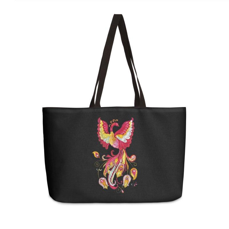 Firebird - Mythical Creature Accessories Weekender Bag Bag by tanjica's Artist Shop
