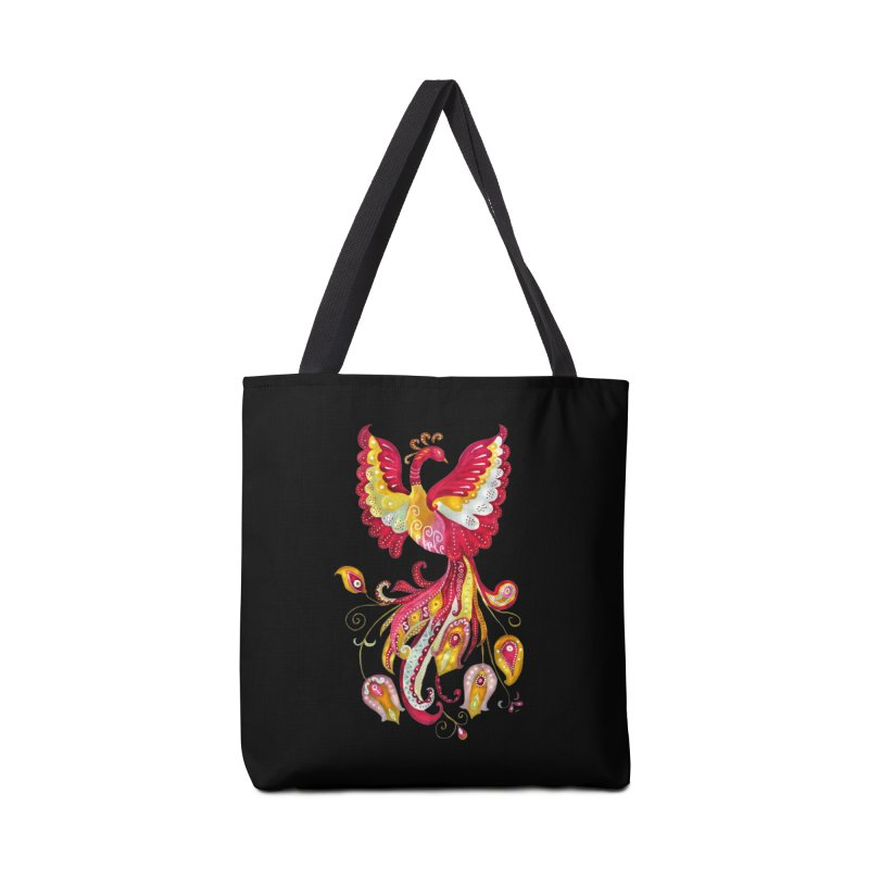 Firebird - Mythical Creature Accessories Tote Bag Bag by tanjica's Artist Shop