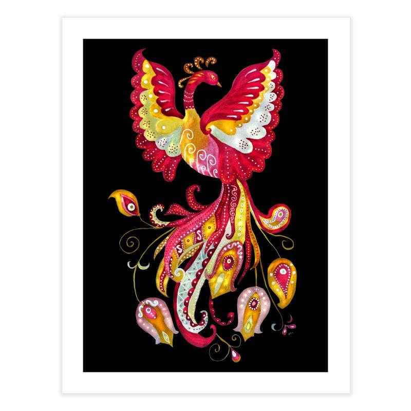 Firebird - Mythical Creature Home Fine Art Print by tanjica's Artist Shop