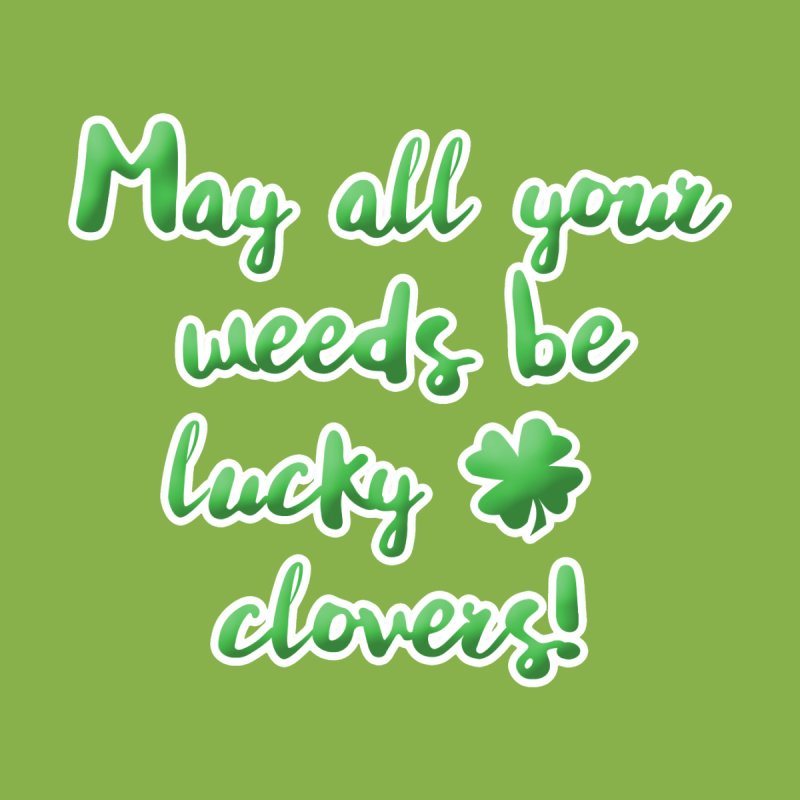 Green Lucky Clover Irish Blessing for Gardeners Women's Zip-Up Hoody by tanjica's Artist Shop