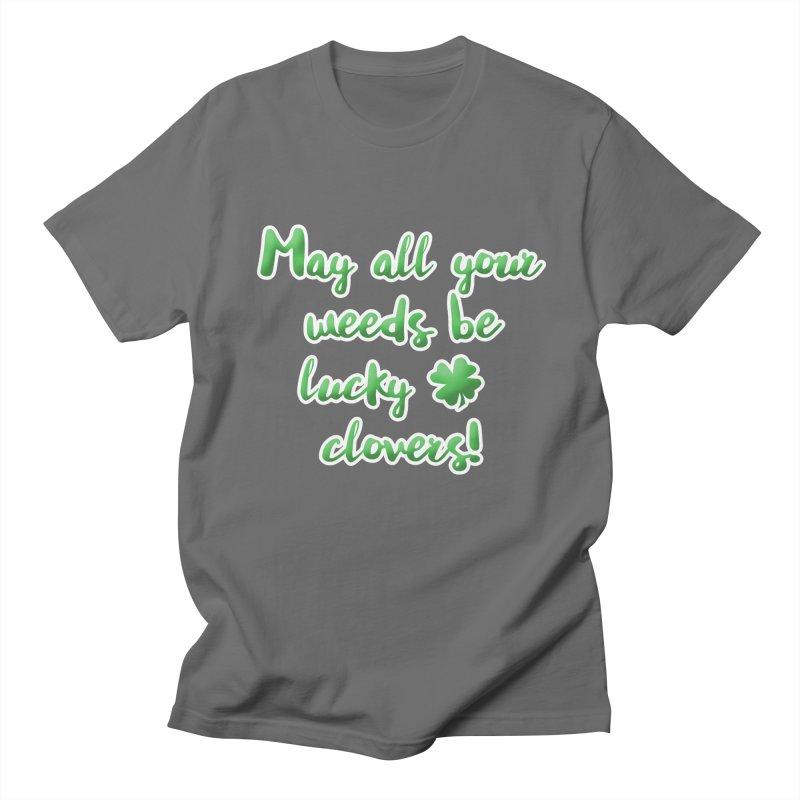 Irish Blessing for Gardeners Men's T-Shirt by tanjica's Artist Shop