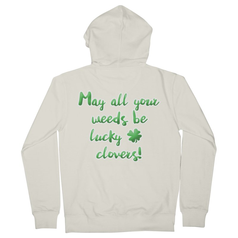 Irish Blessing for Gardeners Women's Zip-Up Hoody by tanjica's Artist Shop