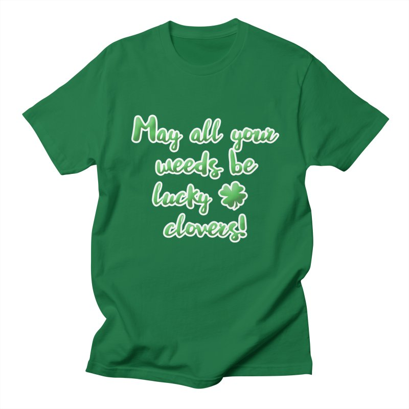 Irish Blessing for Gardeners Men's Regular T-Shirt by tanjica's Artist Shop