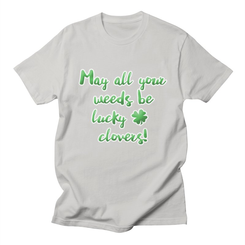 Irish Blessing for Gardeners Men's Regular T-Shirt by tanjica's Artist Shop