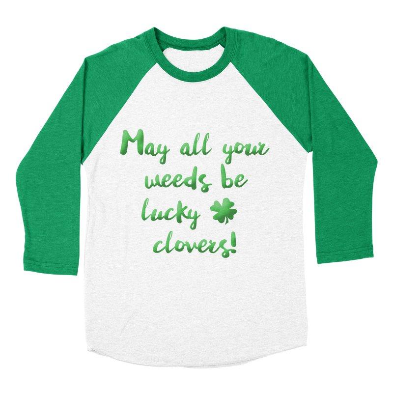 Irish Blessing for Gardeners Men's Baseball Triblend T-Shirt by tanjica's Artist Shop