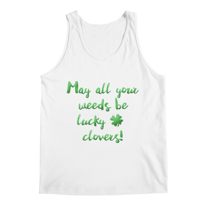 Irish Blessing for Gardeners Men's Regular Tank by tanjica's Artist Shop
