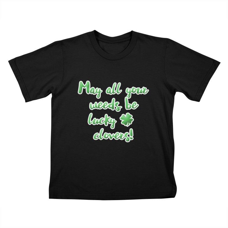Irish Blessing for Gardeners Kids T-Shirt by tanjica's Artist Shop