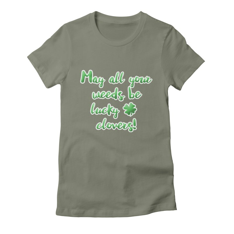 Irish Blessing for Gardeners Women's T-Shirt by tanjica's Artist Shop