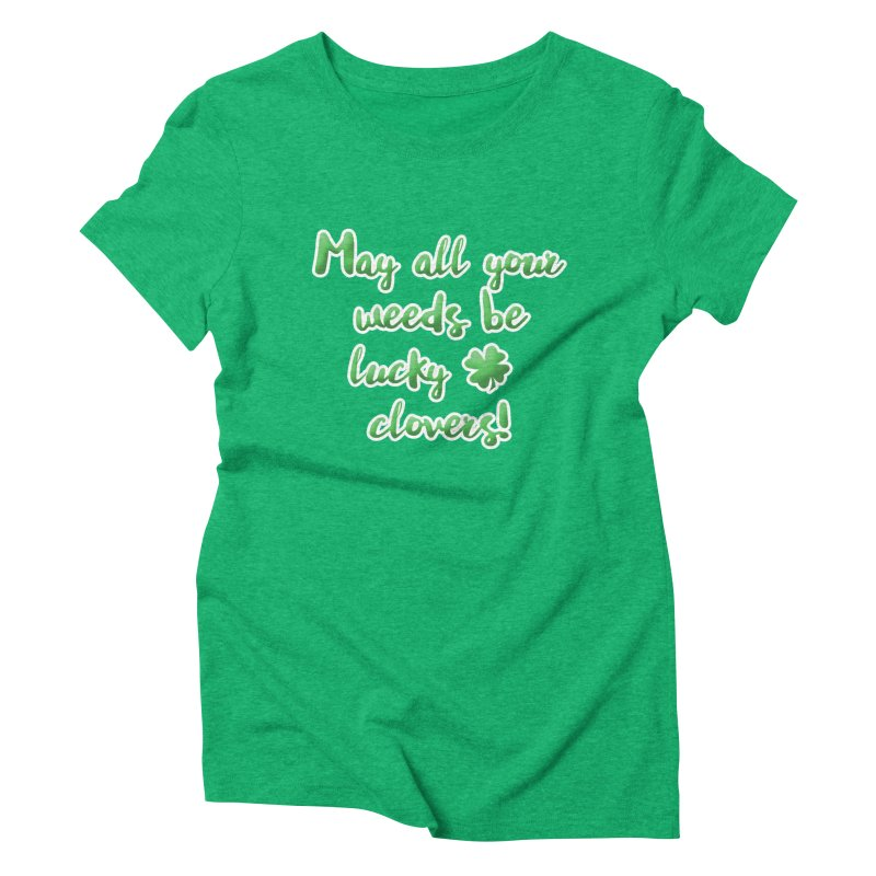 Irish Blessing for Gardeners Women's T-Shirt by tanjica's Artist Shop
