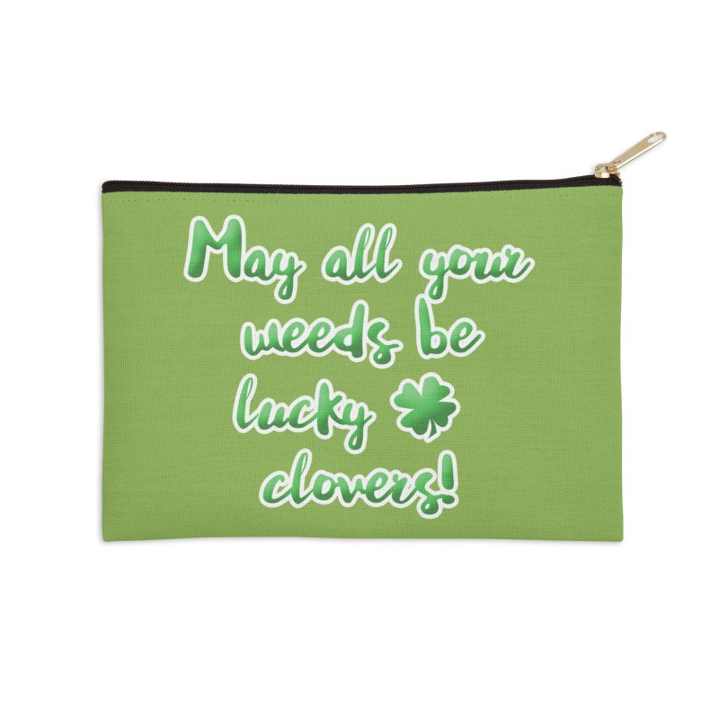 Irish Blessing for Gardeners Accessories Zip Pouch by tanjica's Artist Shop