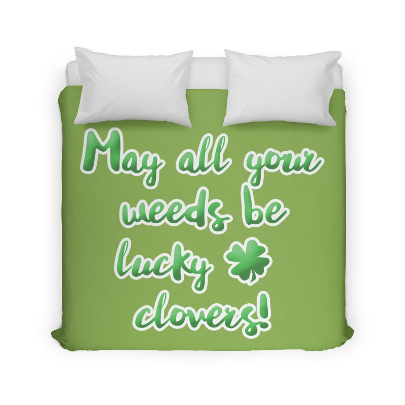 Irish Blessing for Gardeners Home Duvet by tanjica's Artist Shop