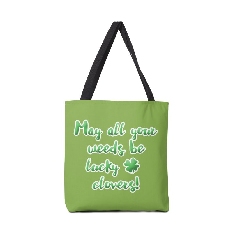 Irish Blessing for Gardeners Accessories Tote Bag Bag by tanjica's Artist Shop