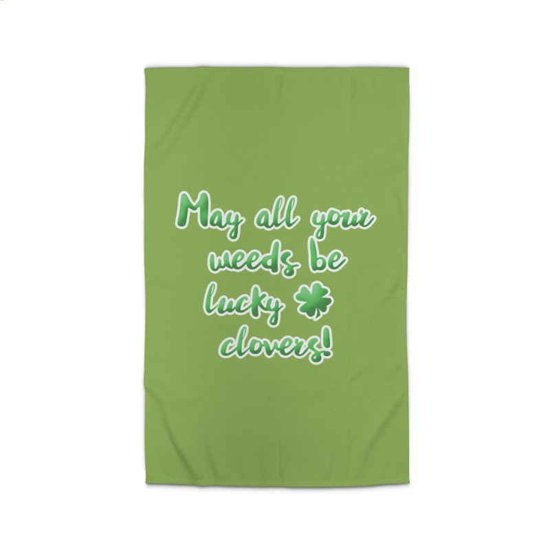 Irish Blessing for Gardeners Home Rug by tanjica's Artist Shop