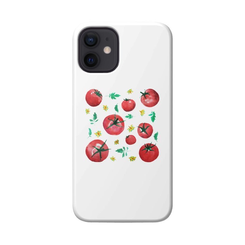 Watercolor Tomatoes Juicy Veggies Accessories Phone Case by tanjica's Artist Shop