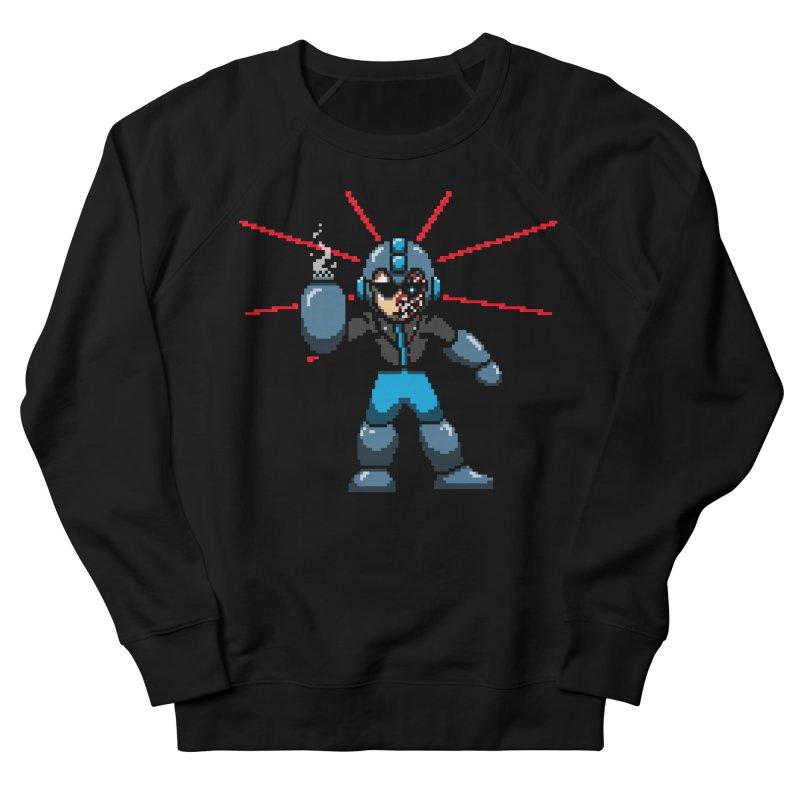 Mega Terminator Men's French Terry Sweatshirt by tannerbisson's Artist Shop