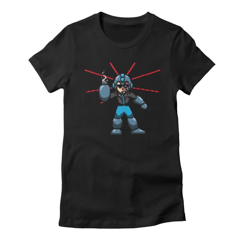 Mega Terminator Women's Fitted T-Shirt by tannerbisson's Artist Shop