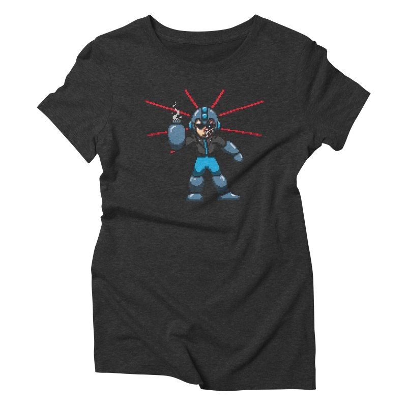 Mega Terminator Women's Triblend T-shirt by tannerbisson's Artist Shop