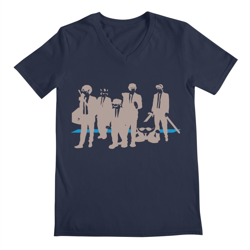 Reservoir Bros. Negative Men's V-Neck by tannerbisson's Artist Shop