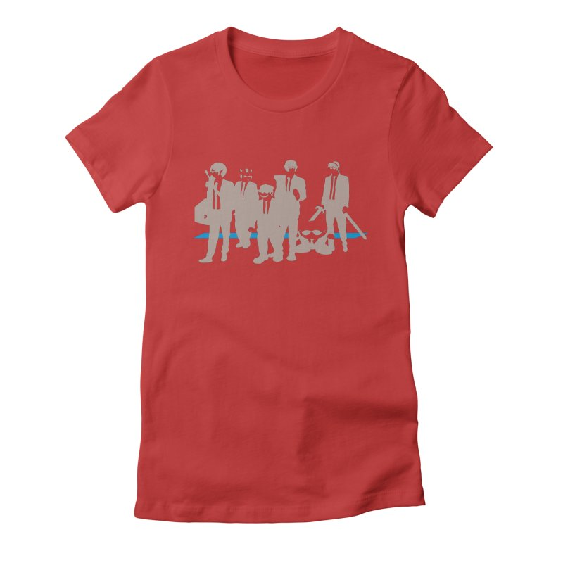 Reservoir Bros. Negative Women's Fitted T-Shirt by tannerbisson's Artist Shop