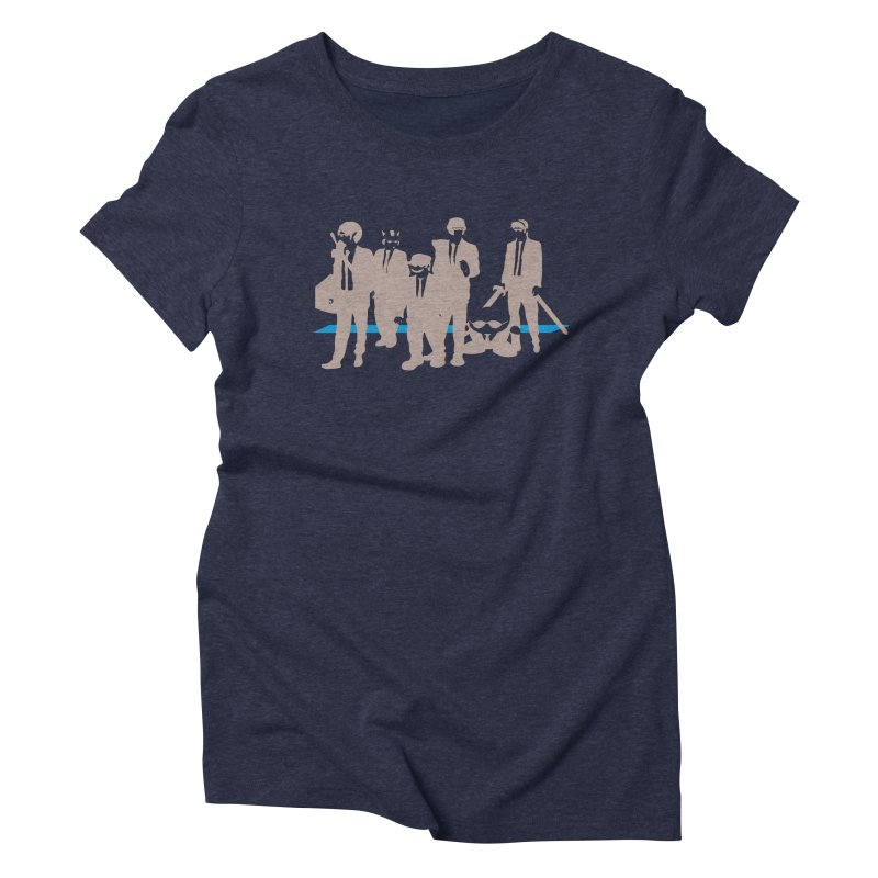 Reservoir Bros. Negative Women's Triblend T-Shirt by tannerbisson's Artist Shop