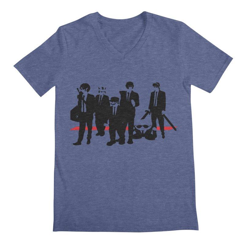 Super Reservoir Bros. Men's V-Neck by tannerbisson's Artist Shop