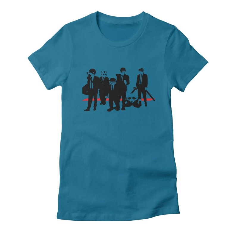 Super Reservoir Bros. Women's Fitted T-Shirt by tannerbisson's Artist Shop