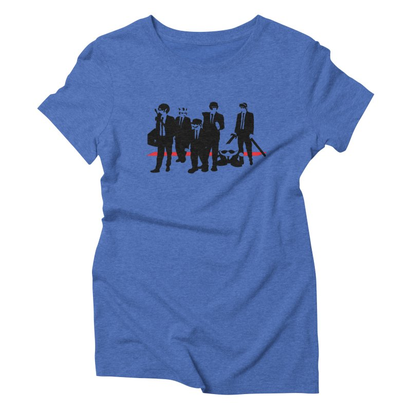 Super Reservoir Bros. Women's Triblend T-shirt by tannerbisson's Artist Shop
