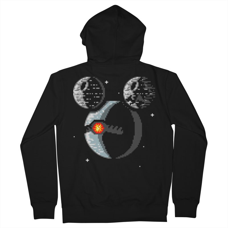 Death Mouse Men's Zip-Up Hoody by tannerbisson's Artist Shop