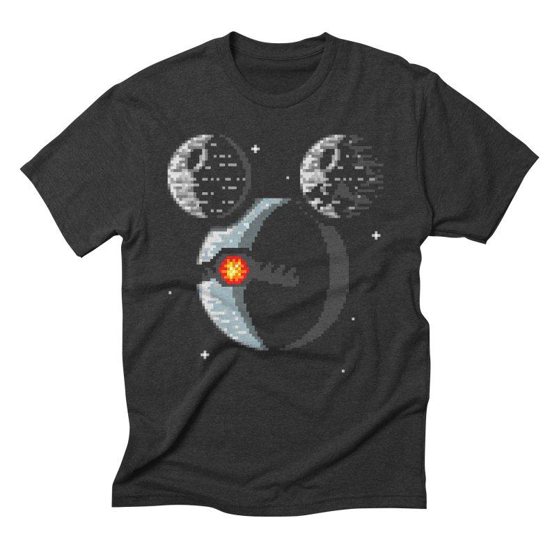 Death Mouse Men's Triblend T-Shirt by tannerbisson's Artist Shop
