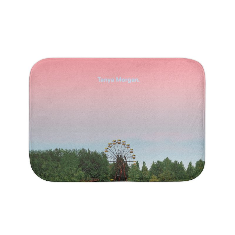 Abandoned Theme Park Home & Accessories Home Bath Mat by Tanya Morgan's Merch Shop