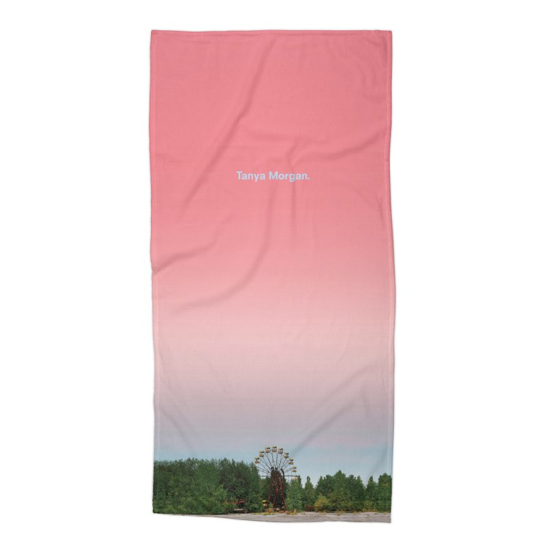 Abandoned Theme Park Home & Accessories Accessories Beach Towel by Tanya Morgan's Merch Shop