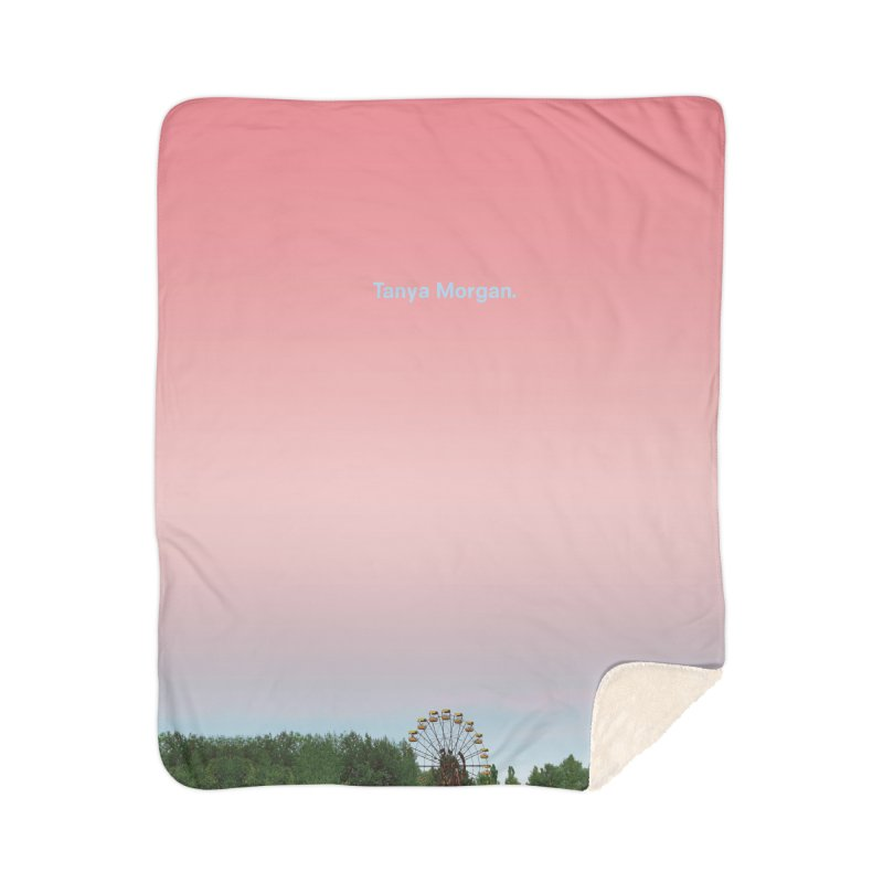 Abandoned Theme Park Home & Accessories Home Sherpa Blanket Blanket by Tanya Morgan's Merch Shop