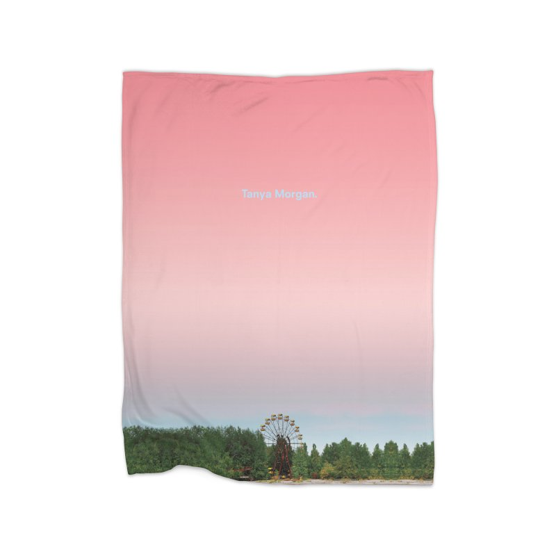 Abandoned Theme Park Home & Accessories Home Fleece Blanket Blanket by Tanya Morgan's Merch Shop