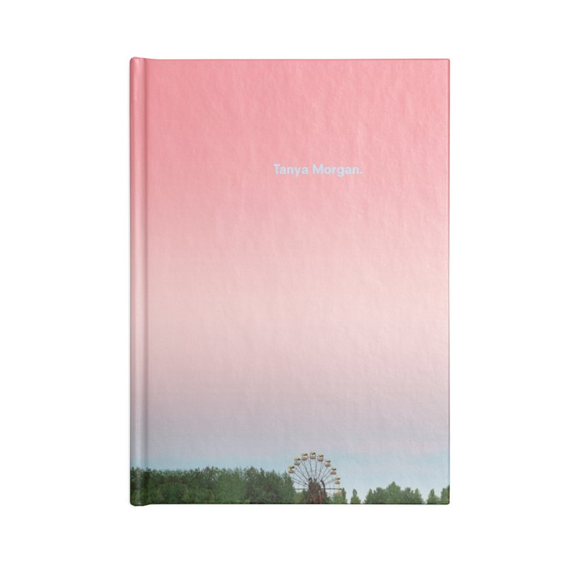 Abandoned Theme Park Home & Accessories Accessories Lined Journal Notebook by Tanya Morgan's Merch Shop