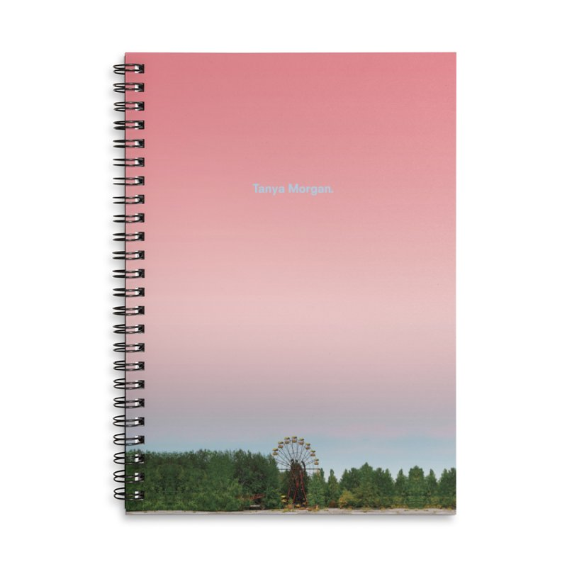 Abandoned Theme Park Home & Accessories Accessories Lined Spiral Notebook by Tanya Morgan's Merch Shop