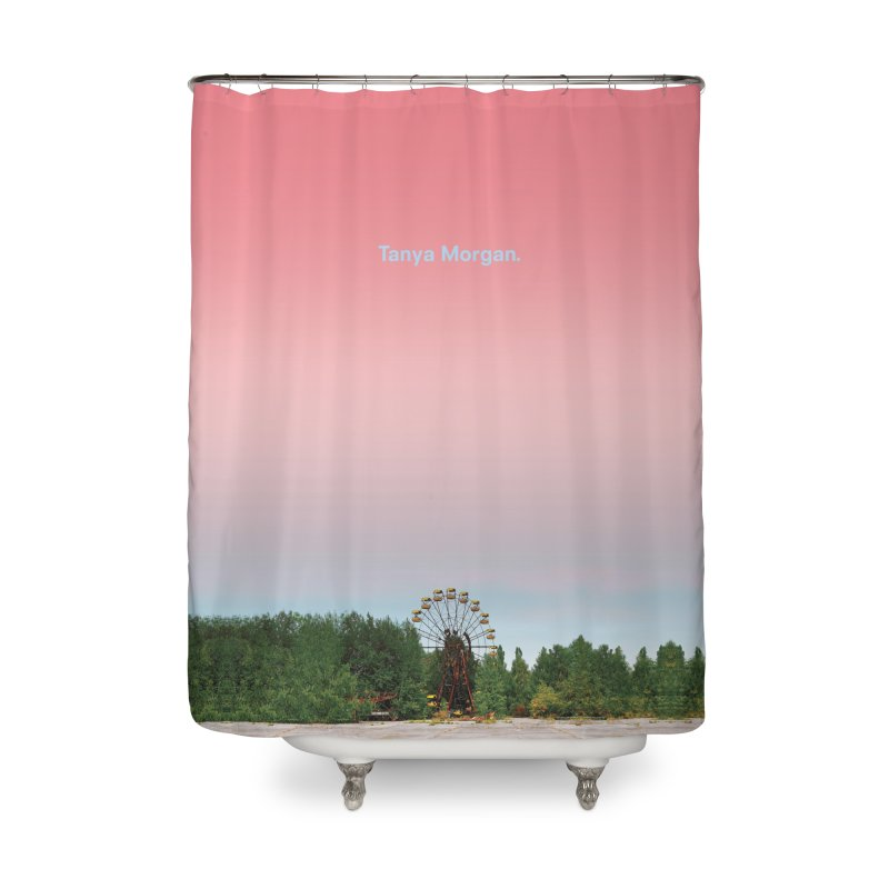 Abandoned Theme Park Home & Accessories Home Shower Curtain by Tanya Morgan's Merch Shop